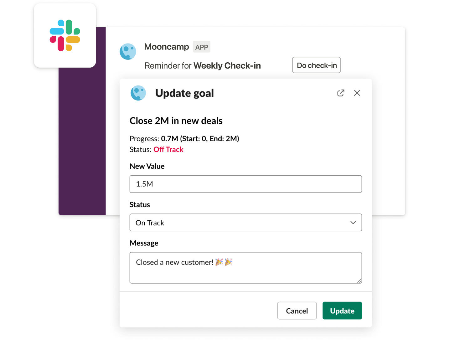 Slack integration